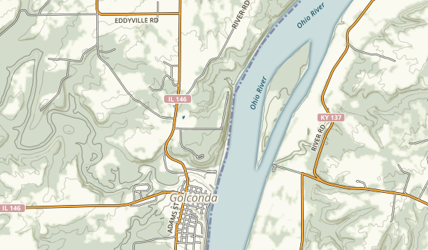 Golconda Marina Map