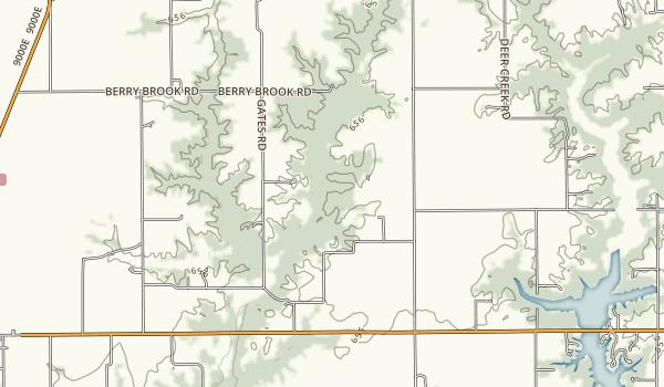 Goode's Woods Map