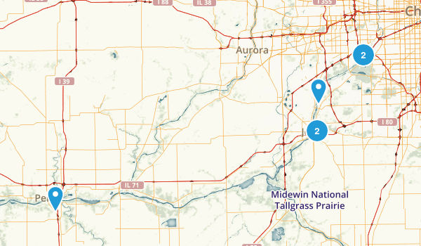 Illinois & Michigan Canal Map