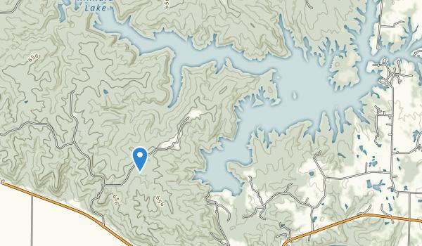 Kinkaid Lake Map