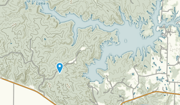 Kinkaid Lake Map