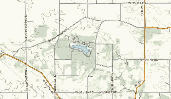 Lake Le-Aqua-Na Map