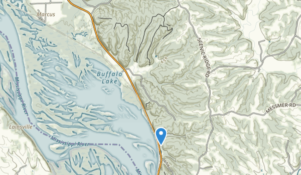 trail locations for Mississippi Palisades