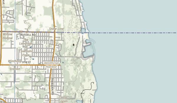 North Point Marina Map