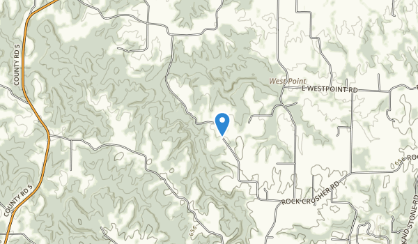 Piney Creek Ravine Map