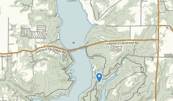 Brookville Lake Map