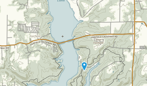 Brookville Lake Map