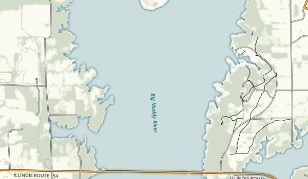 Rend Lake Map