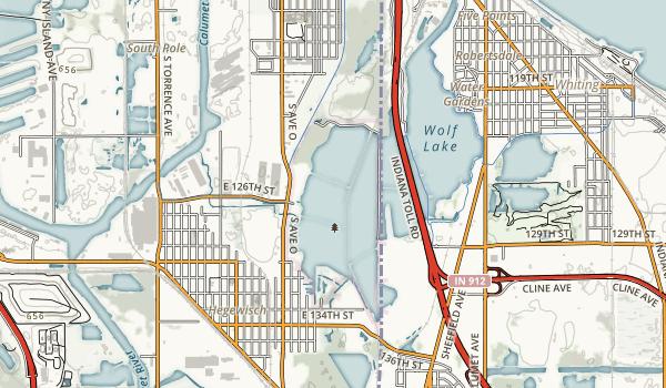 William W. Powers Map