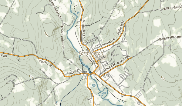 Bald Mountain Public Reserved Land Map