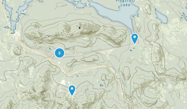 Bigelow Preserve Public Reserved Land Map