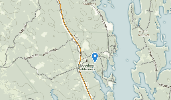 trail locations for Cobscook Bay State Park