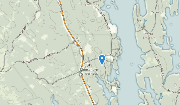 Cobscook Bay State Park Map