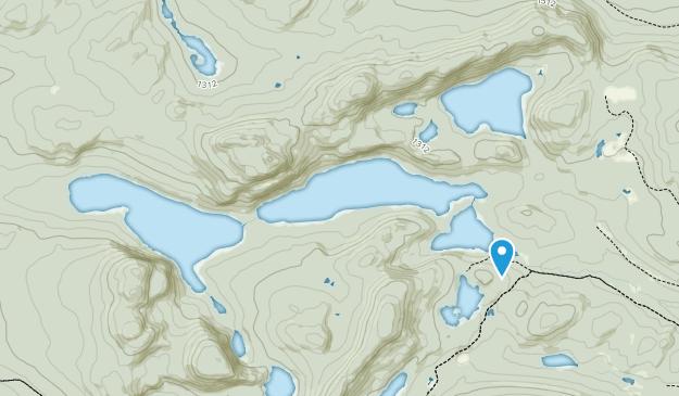 Deboullie Public Reserved Land Map