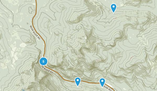 Grafton Notch State Park Map