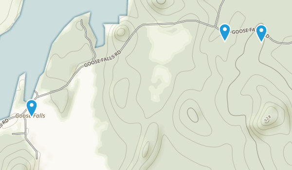 Holbrook Island Sanctuary Map