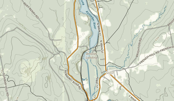 Kennebec Valley Trail Map