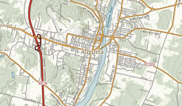Lagrange to Medford Trail Map