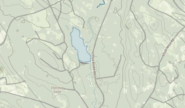 Machias River Corridor Map