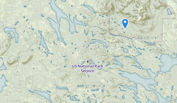 Moosehead Lake Public Reserved Land Map