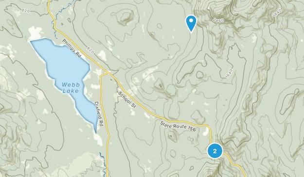 Mt. Blue State Park Map