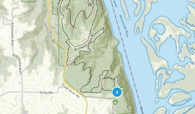 Pikes Peak State Park Map