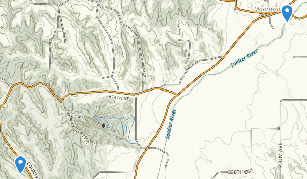 Preparation Canyon State Park Map