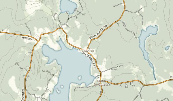 Penobscot River Corridor Map