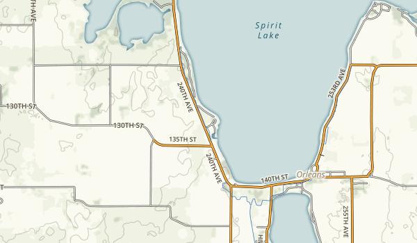Templar State Recreation Area Map