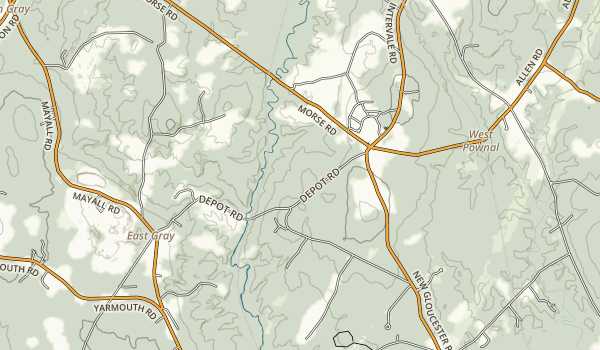 Pineland Public Reserved Land Map