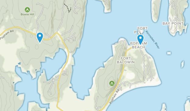 Beste Wege in Popham Beach State Park - Maine | AllTrails