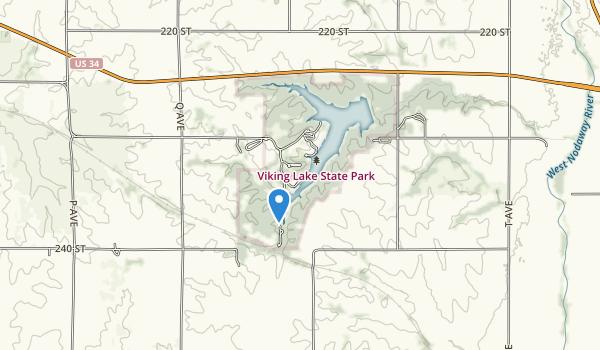 Viking Lake State Park Map