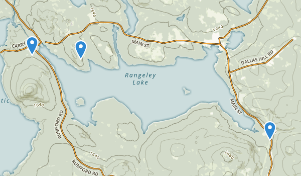 Rangeley Lake State Park Map