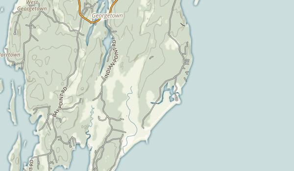 Reid State Park Map