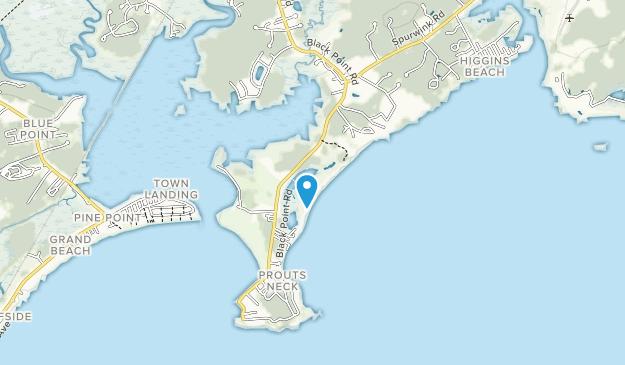 Scarborough Beach State Park Map
