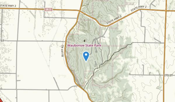 Waubonsie State Park Map