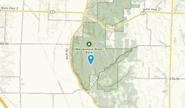 Parque estatal waubonsie Map