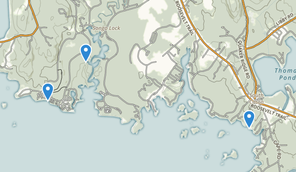 Sebago Lake State Park Map