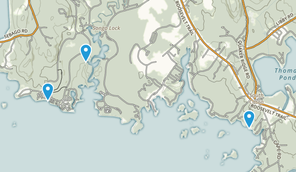 Sebago Lake State Park Map
