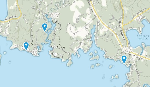 Beste Wege in Sebago Lake State Park - Maine | AllTrails