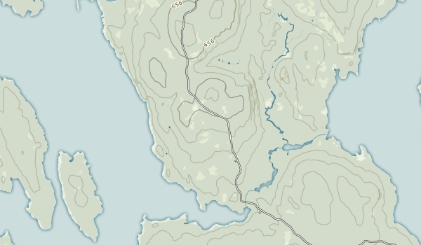 Seboeis Public Reserved Land Map