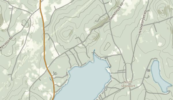 Swan Lake State Park Map