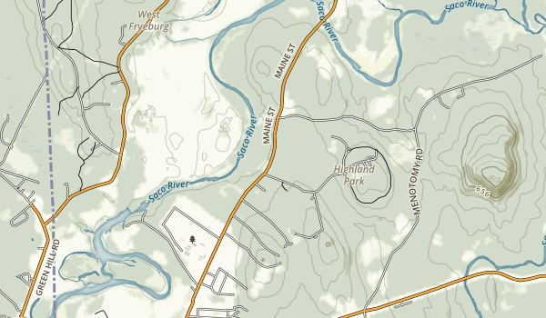 Swans Falls Campground Map
