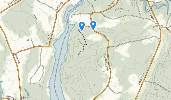 Vaughan Woods State Park Map