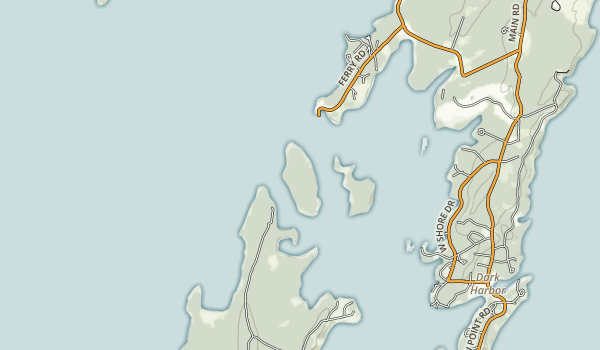 Warren Island State Park Map