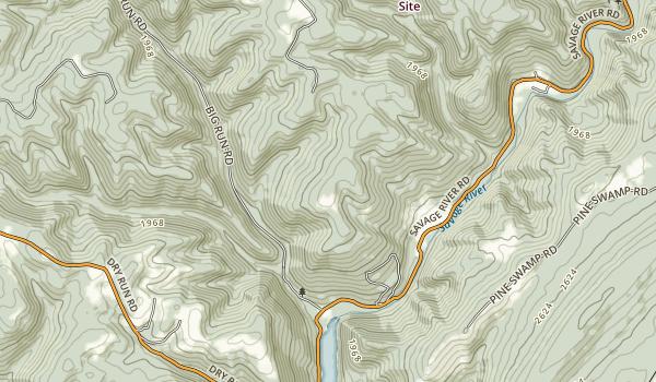 Big Run State Park Map