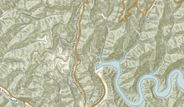 Fishtrap Lake State Park Map