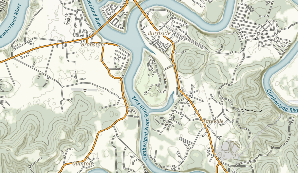 General Burnside State Park Map