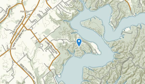 Green River Lake State Park Map