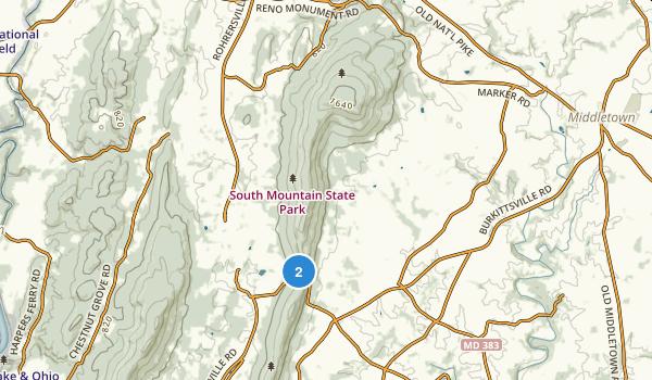Gathland State Park Map